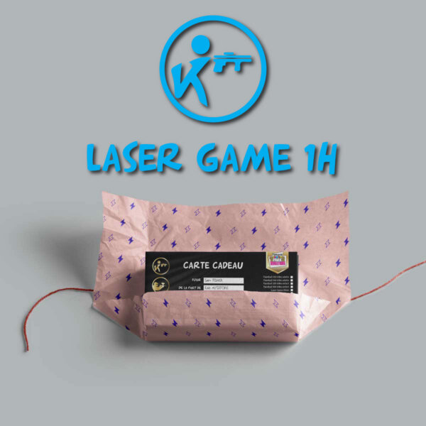 carte cadeau laser game 1h