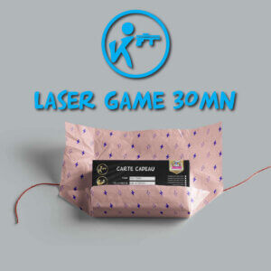 carte cadeau laser game 30