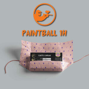 carte cadeau paintball 1h