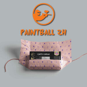 carte cadeau paintball 2h