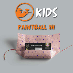 carte cadeau paintball enfant 1h